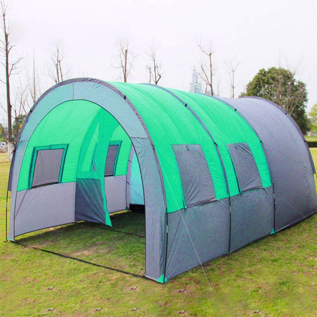 d2692db57c9 Get Quotations · Homgrace Waterproof Camping Outdoor Tent Family Large Tent  Backpacking Tent Hiking Tent