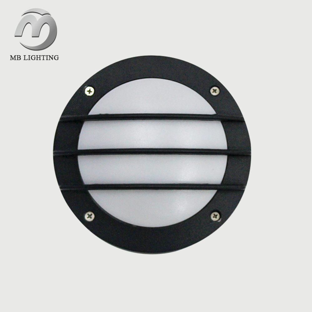 die cast aluminum and plastic 5W 6W 7W 8W 9W 10W led outdoor wall pack light