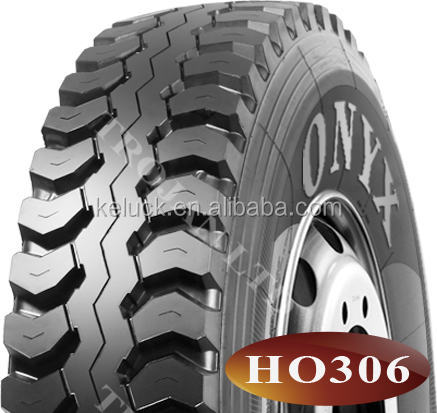 Onyx Brand Low Profile All Steel Radial Truck Parts Tyre