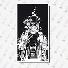50 шт. наклейка с изображением скелета призрак с черепом в стиле панк-рок наклейки для скрапбукинга мотоцикла для самостоятельного ноутбука ...(Китай)