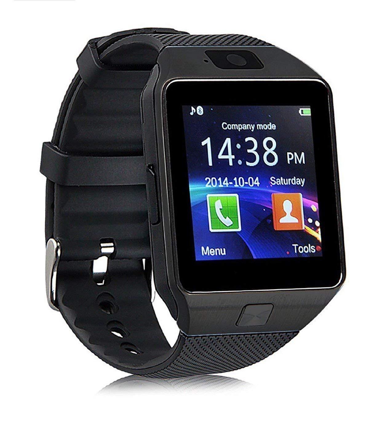Smart Watch DZ New in Retail box/Call, Talk, Answer Calls, Messages/Email/Bluetooth/Camera/Pedometer/Music Player/Calendar/Alarm Clock/Sim Slot/(Black)