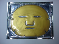 Top quantity moisturizing 24k pure nano gold anti-aging wrinkle custom face mask for skin care