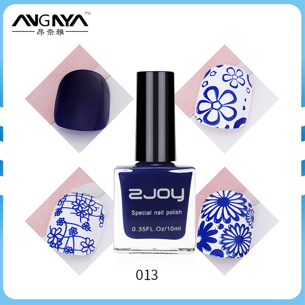 ANY 10ml New 40 Color Drawing Newly Sweet Style Nail Art Stamping Polish