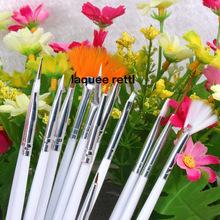 15 pcs Nail Art Brush Painting Polish Dotting Pen Set High Quality
