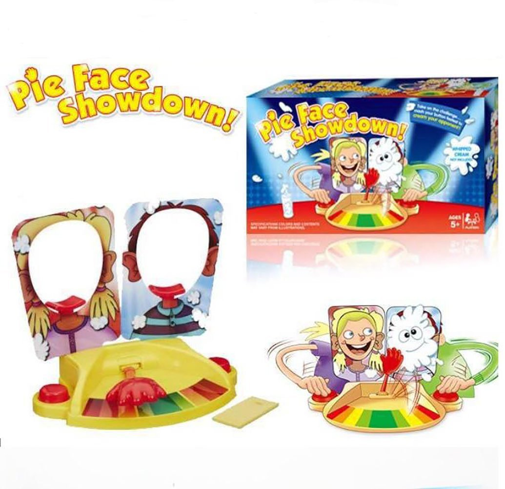 WishUlucky Pie Face Showdown Game Fun Family Two-player VS Game
