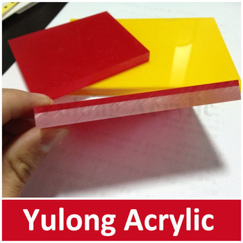 Cast Flexible Acrylic Sheet Two Color For Decoration - Buy Acrylic ...