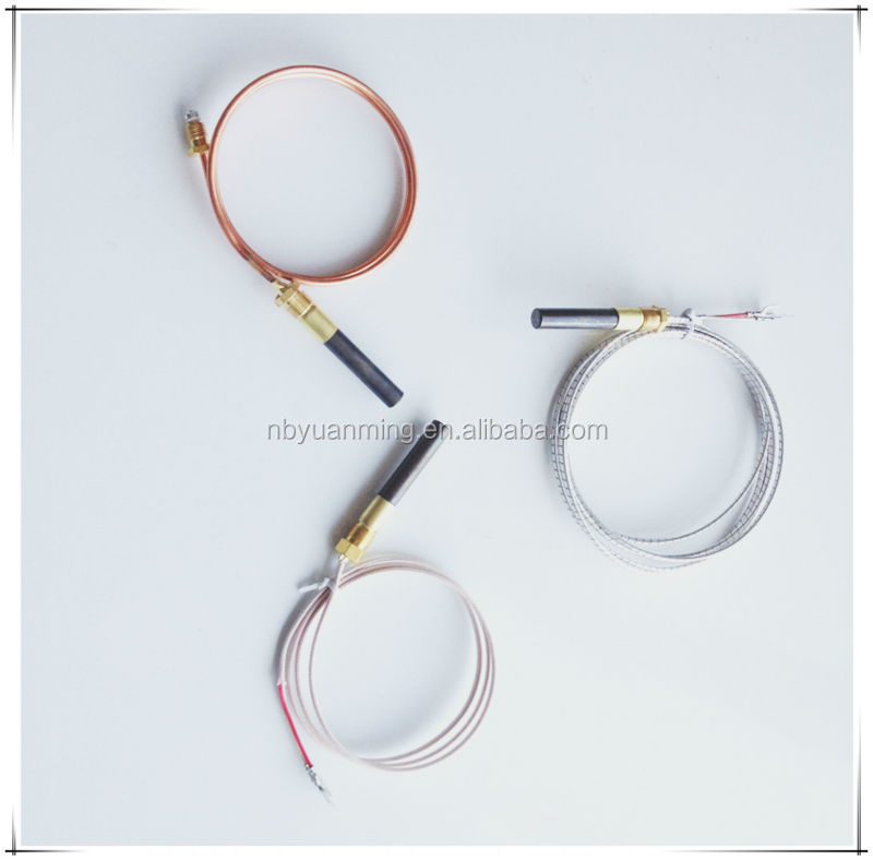 replacement cluster used thermopile fryer degree fireplace generators parts millivolt gas thermocouple from heater in item on water