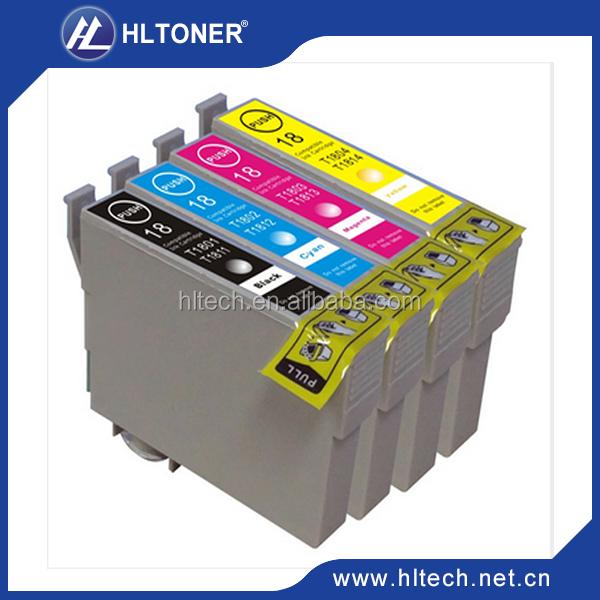 Compatible Epson ink cartridge T1811/T1812/T1813/T1814 for ExpressionHome XP-30/102/202/205/302/305/402/405/405WH/212/215/312