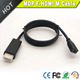 Vision 1m thunderbolt female to HDMI male adapter cable in black