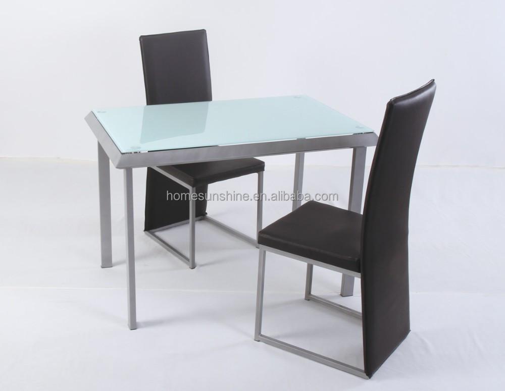 2 Persoons Tafel : Persoons eettafel en stoel set buy eettafel set zwart metalen