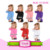 New style light pink fancy kids birthday sublimation T-shirt wholesale children clothing usa Cotton T-shirts with sequin number