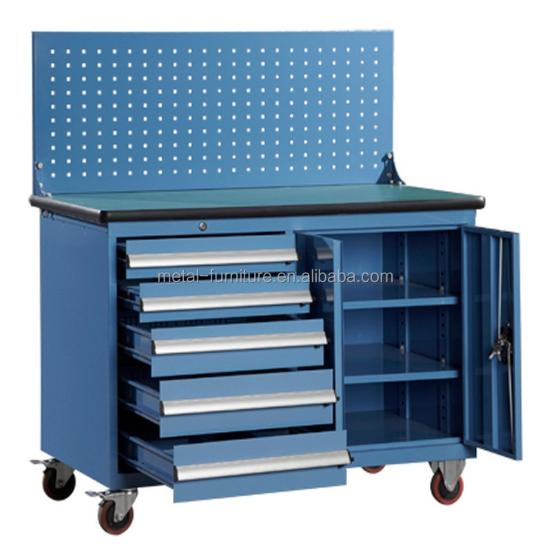 hot sale heavy duty movable rolling drawer metal steel tool <strong>cabinet</strong> with wheels