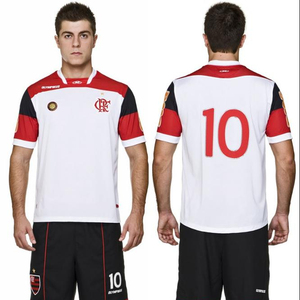 Customized logo quick dry yellow color soccer jersey set football sport wears soccer uniforms