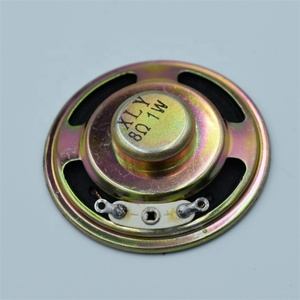 Buzzer Loudspeaker Diameter 50mm 1W Iron shell  Paper tray  Internal magnetism 8R ROSH