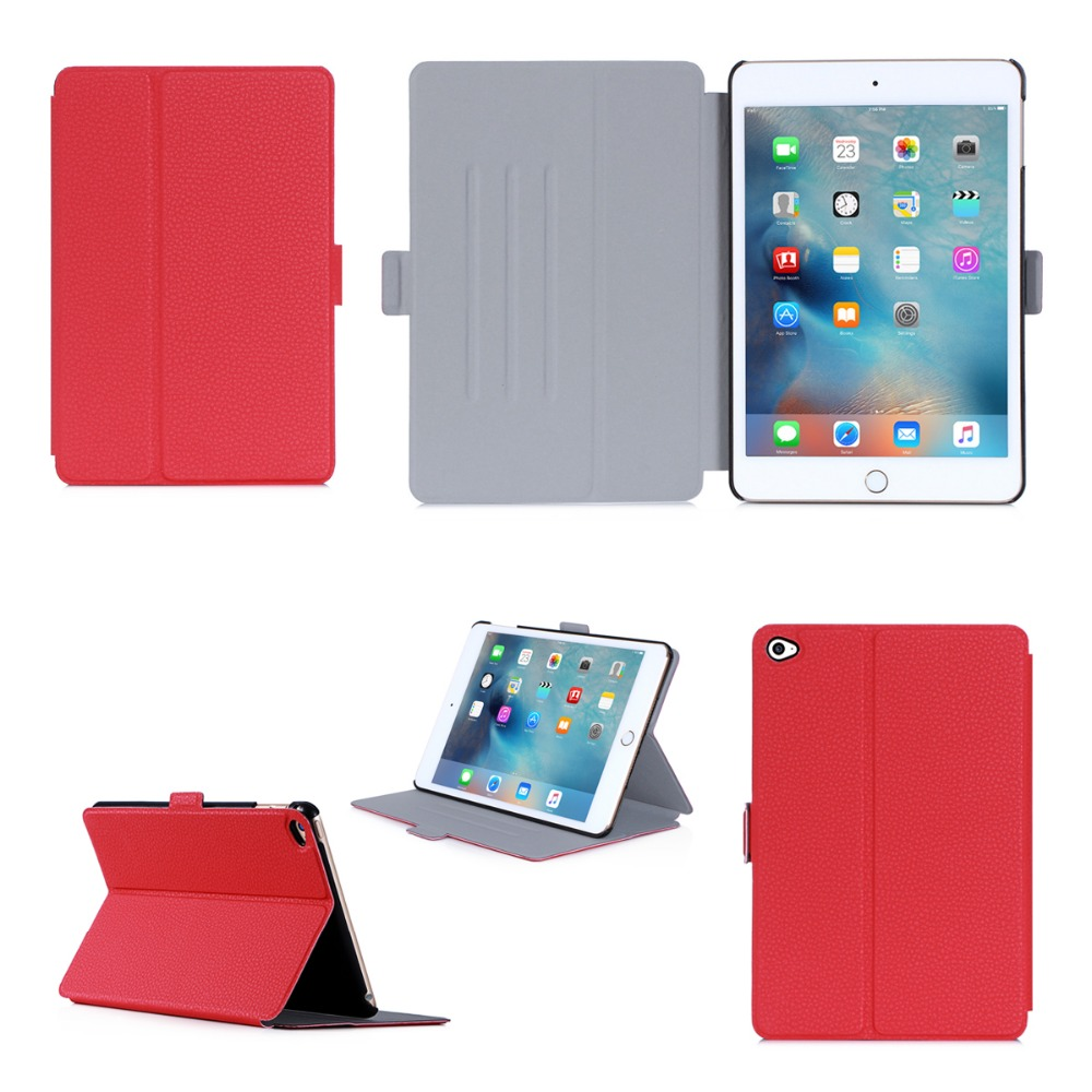 Wholesale Popular New Design Luxury Ultra Slim Cover Case High Quality Fancy Flip Tablet Case For iPad Mini 4