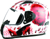 New design ABS material cross full face motorcycle helmet