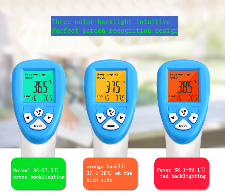 Bébé à la Maison Infrarouge Front Thermomètre Sans contact Thermomètre Humain Ajouter Au Comparateurpartager Bébé Thermomètre Frontal Numérique