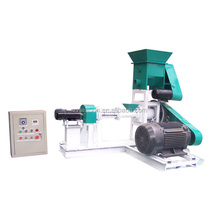 Small Electric Floating Fish Feed Extruder / Fish Feed Pellet Extrusion Machine