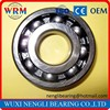 China factory high precision long life deep groove ball bearing 6312 60*130*31
