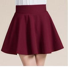 New 2015 Summer style sexy Skirt for Girl lady Korean Short Skater Fashion female mini Skirt Women Clothing Bottoms