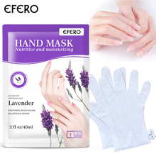 OEM Hand <span class=keywords><strong>Mask</strong></span> Moisturizing ถุงมือ <span class=keywords><strong>Whitening</strong></span> สปามือต่อต้านริ้วรอย Lavender สารสกัดจากพืช Peeling Hand <span class=keywords><strong>Mask</strong></span>