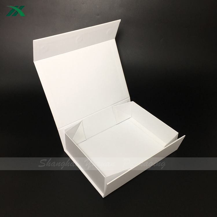 collapsible style gift box for clothing packaging
