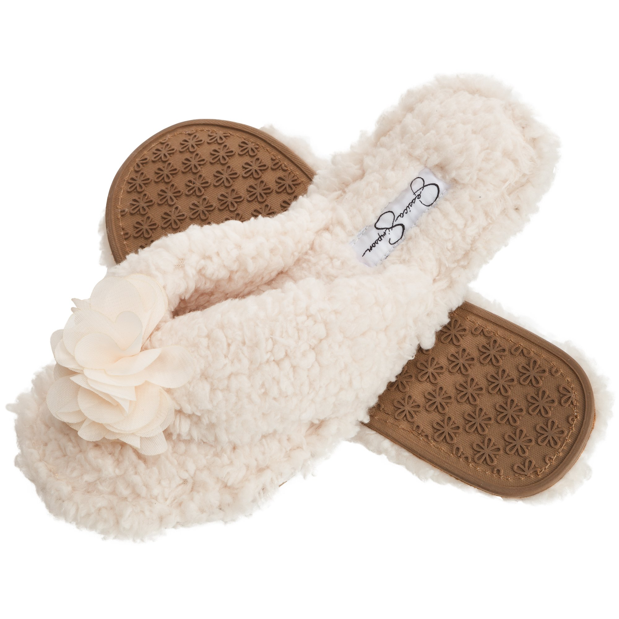 Slippers Reasonable Womens Colorblock Fur Slide Slippers Forever Collectibles House Shoes