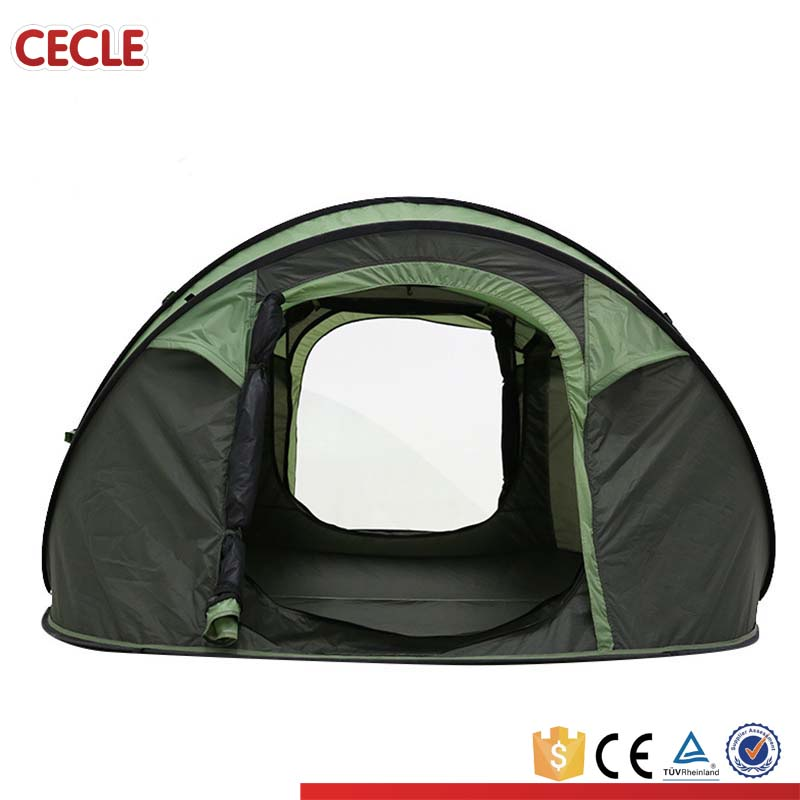 Waterproof Automatic Outdoor over 5 Person Instant Camping Family Tent
