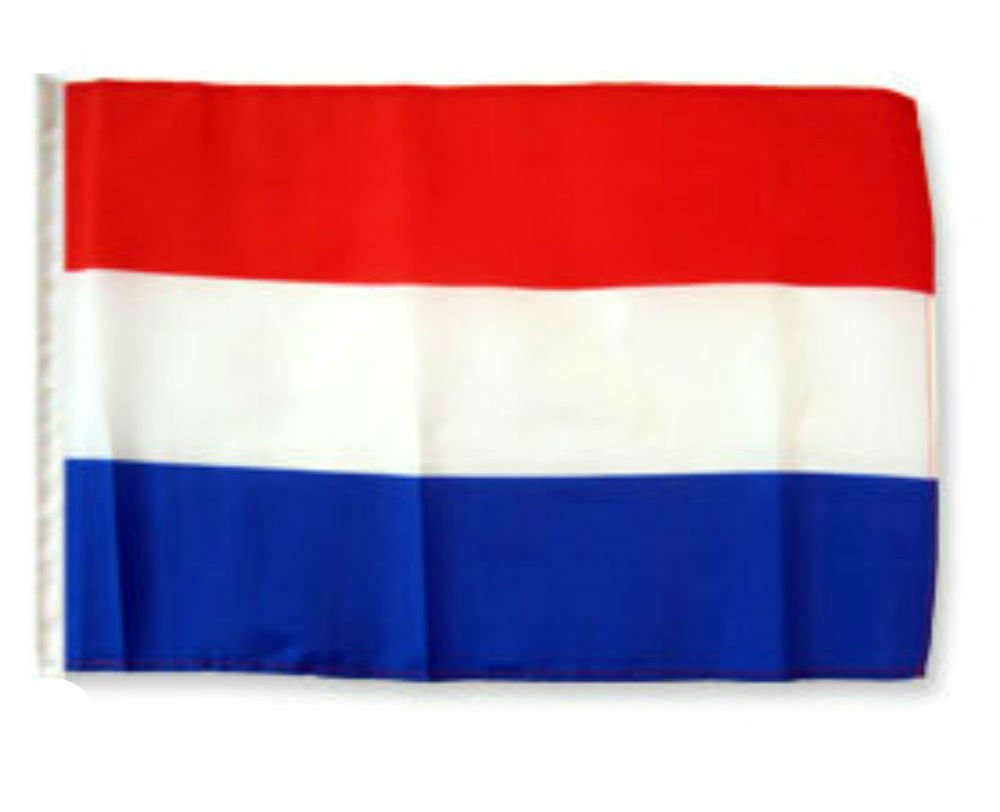 "Netherlands 12""x18"" Sleeved Polyester Garden Flags"