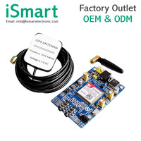 SIM808 module instead of 908 GSM GPRS GPS positioning SMS data sent STM32.51 program
