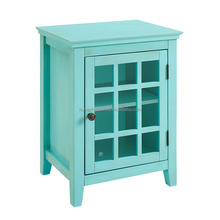 Office furniture beauty salon cabinets glass storage cabinet