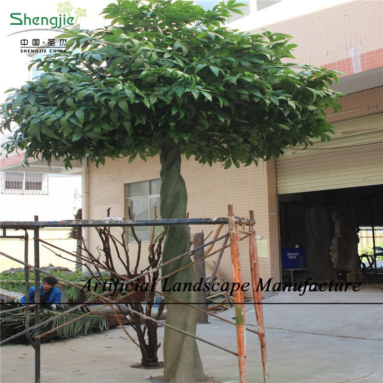 Sjzjn 2106 Beautiful Fake Evergreen Money Tree On Sale,Artificial ...