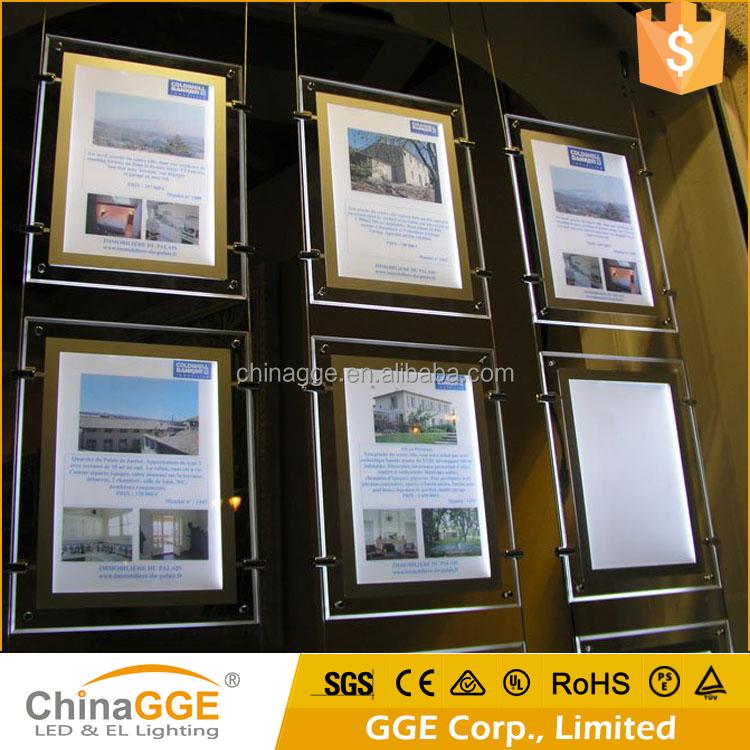 Acrylic A4 Portrait Double Sided Frame Display, Acrylic A4 Portrait ...