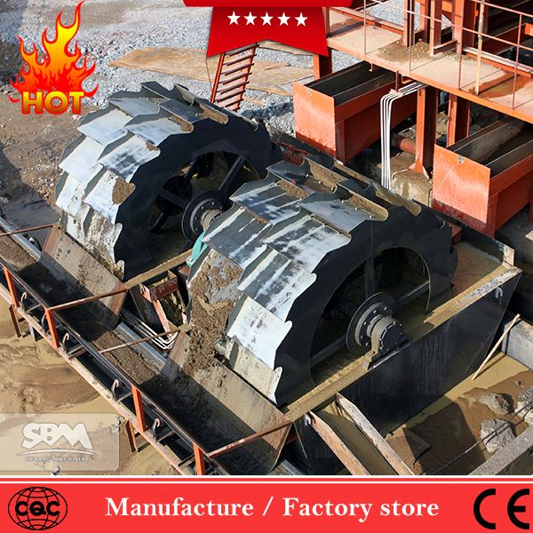 2017 Hot Sale aggregate washer equipment, sand dust cleaner