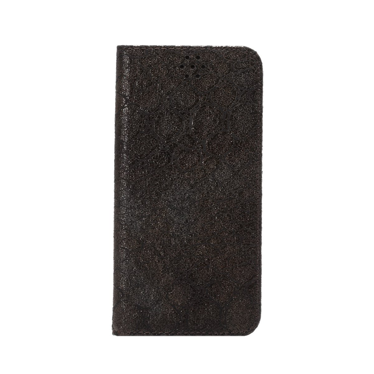 """iPhone 6S Case, SAVYOU iPhone 6 (4.7"""") Stone Pattern Flip Wallet Case Premium PU Protective Leather Stand Case with Card Holder for iPhone 6/6S (Black)"""
