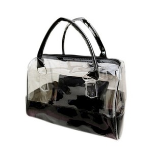 New designer beautiful luxury pvc lady handbags