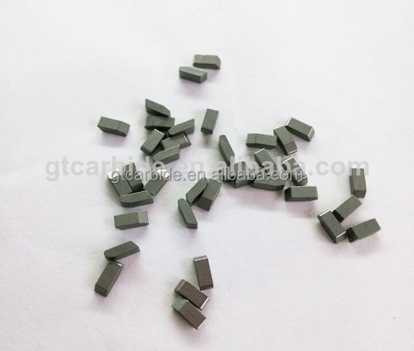YG6X 8.5*2.5*3.5 tungsten carbide saw tips