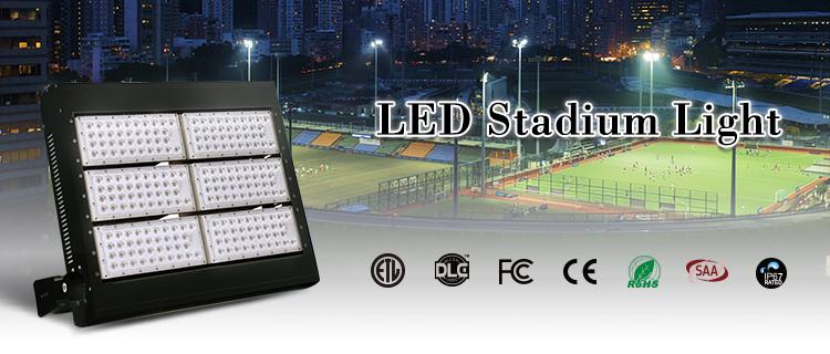ETL Wasserdichte IP67 FÜHRTE Hohen Mast Licht 200 watt 400 watt 600 watt 800 watt 1000 watt 1200 watt Stadion LED Flutlicht