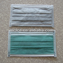 New design high quality disposable medical activated carbon face mask for sand&dust prevention