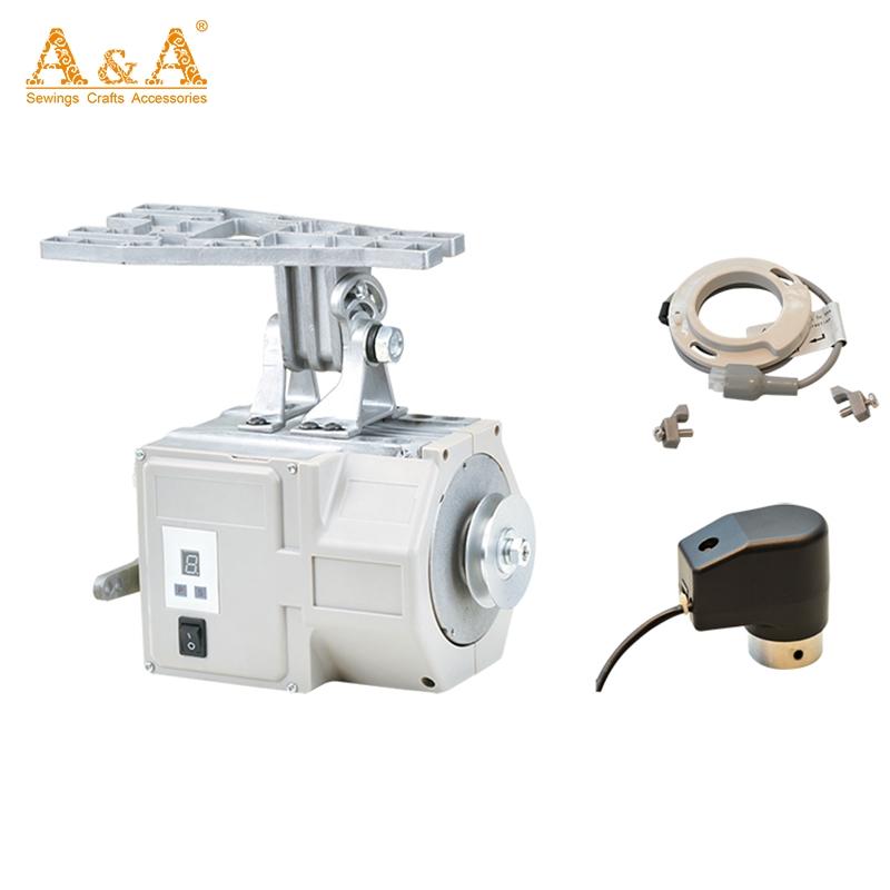 Energy-Saving Máquina De Costura Servo Motor 85-250V, Servo Motor Para Máquina De Costura Industrial