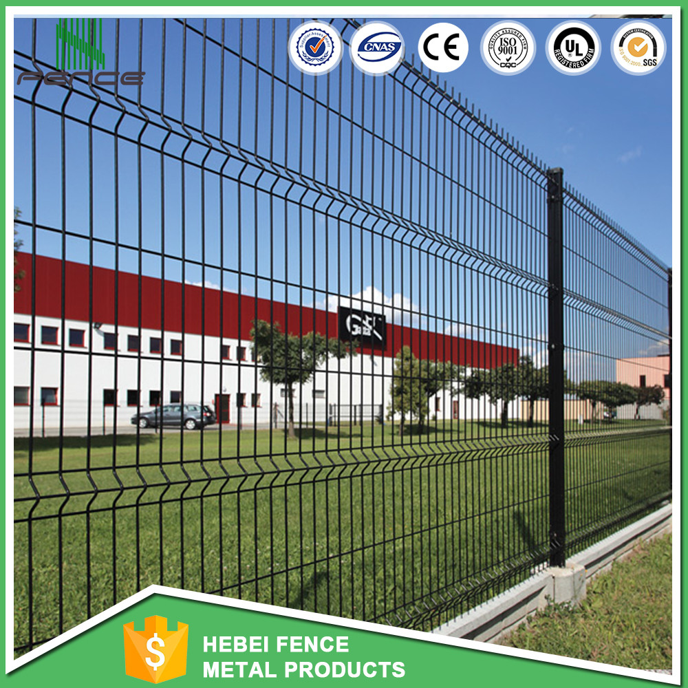 High Security Triangle Bend Welded Wire Mesh Garden Fence - Buy ...