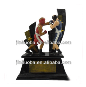Boxing trophy, resin customized trophy