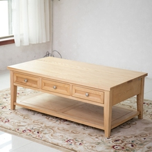 Home Furniture Coffee Table Wood Design with Drawers