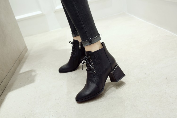 SARA015 Ankle military high heel boots men boots rT1arc