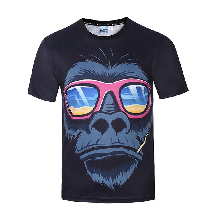 Alibaba.com / High quality 3d Printed t shirt Fashion Tshirt 3D Print Summer Tee Shirts Short Sleeve Casual Tee