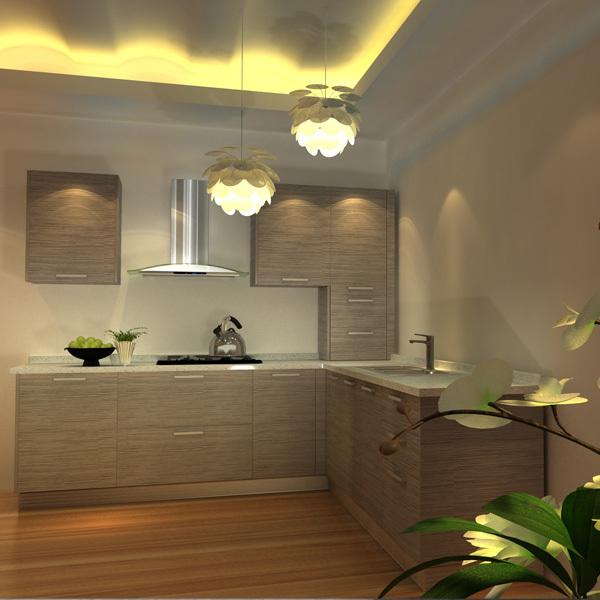 personalizado de melamina laminado y moderno gabinete de cocina de ...