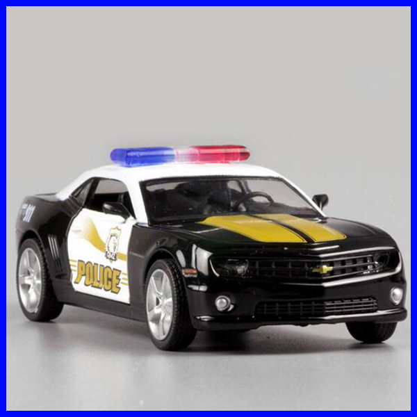 Police kids small metal toy cars diecast model pull back cars