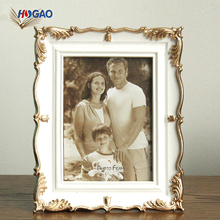 Simple retro resin family home bedroom desk decorative photo picture frame