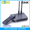 2014 Top Quality CS4K RK3288 CS4K Android 4.4 TV BOX RK3288 CPU Quad Core 4K TV Box with karaoke with microphone