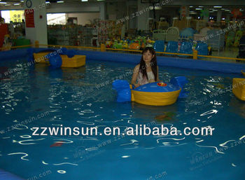 2014 new design PE paddler hand boat for summing pool,river,beach